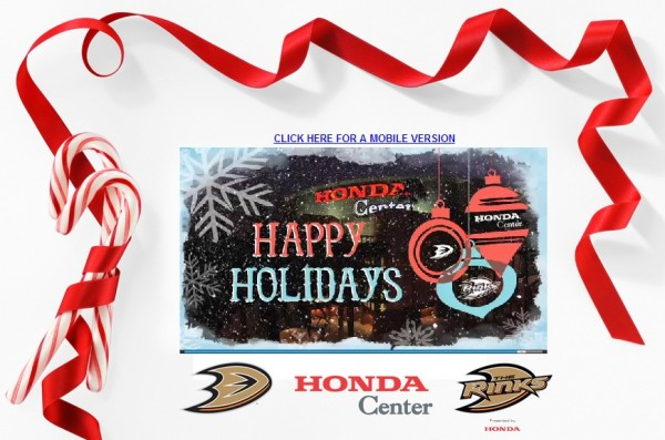 2012 Team Holiday Cards | The Business of Sports