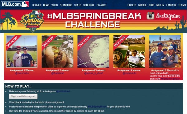mlbspringbreak
