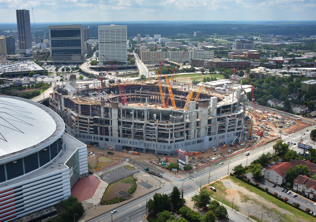 The corporate ticket marketplace report the business of for Mercedes benz stadium jobs