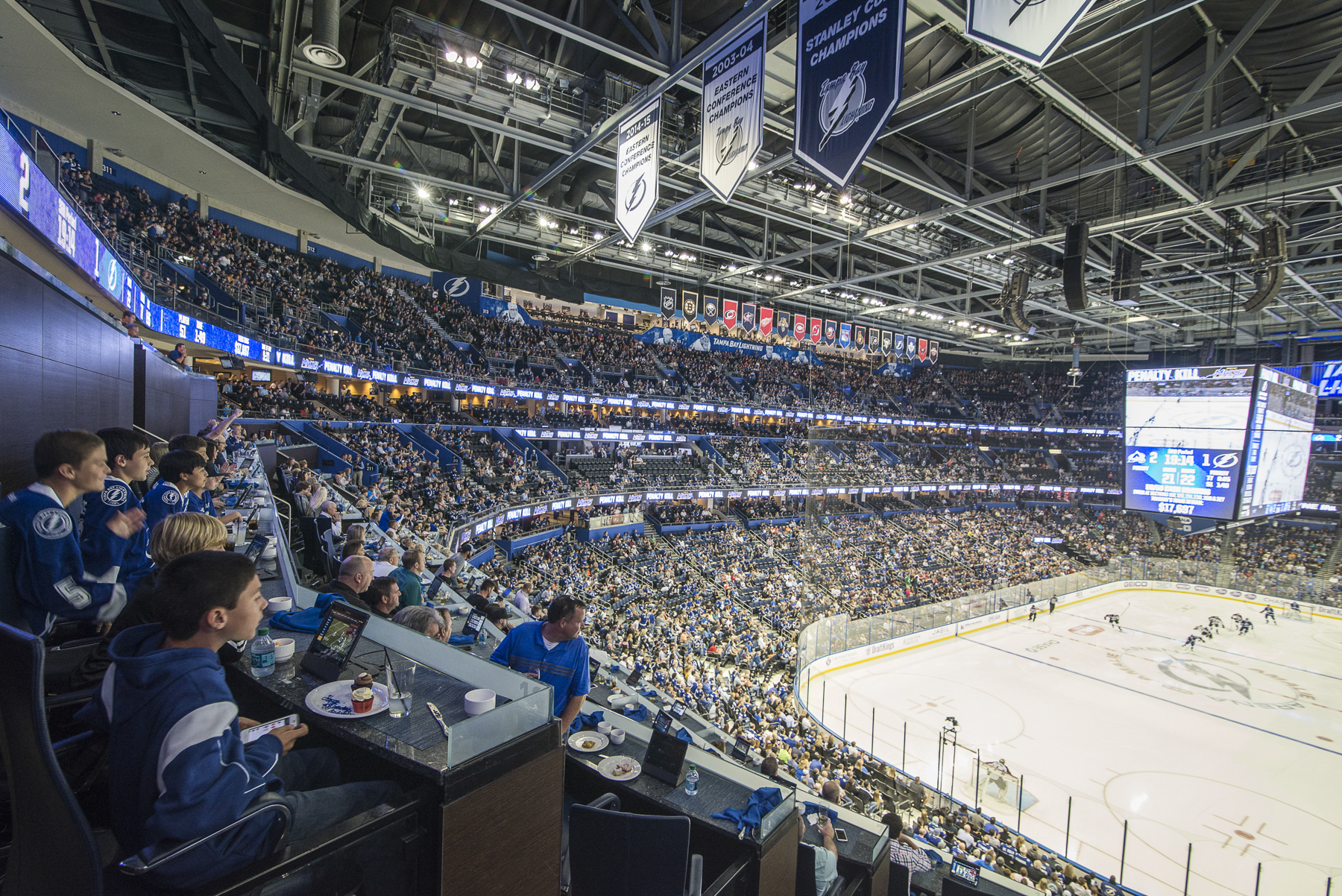 lightning strikes twice at amalie arena the business of