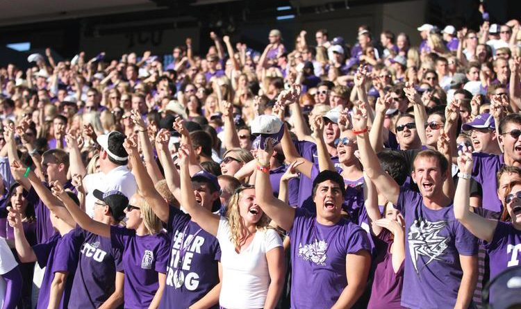 TCU Student Section